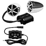 BOSS Audio MC600B Bluetooth Enabled Motorcycle/UTV Speaker and Amplifier System