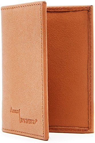 Genuine Leather Compact Minimalist Blocking