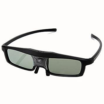 HUYAN1 3D DLP Link Gafas144Hz 3D Recargable IR Obturador Activo ...