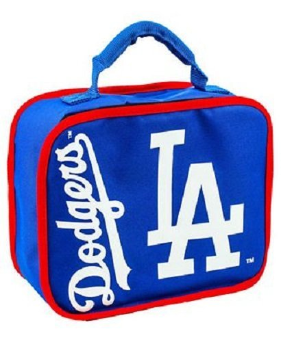 The Northwest Company MLB Los Angeles Dodgers Sacked Lunchbox, 10.5-Inch, Royal by The Northwest Company