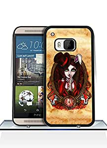 HTC One M9 Funda Case - Game Alice Madness Returns Drop Resistant Ultra Thin Exclusive Vintage Special Pattern Anti Scratch Plastic Funda Case For HTC One M9