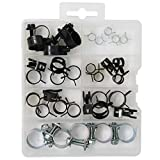 T.K.Excellent Hose Clamps Assorted Corbin Clamps