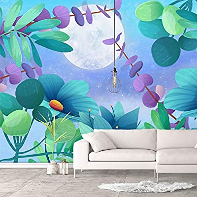 Wall Murals for Bedroom Green Plants Animals Removable Wallpaper Peel and Stick Wall Stickers, Crafted to Perfection, Gorgeous Expert Craftsmanship