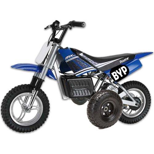 Adjustable Height RAZOR MX350 MX400 Kids Youth TRAINING WHEELS ONLY