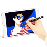 Healcity Active Stylus Digital Pens with 1.8 mm Fine Point Copper Tip for iPhone/iPad/Tablet and other Capacitive Touchscreens Devices, Good for drawing and Handwriting (Black)