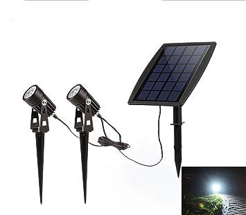 ZYYBRE Proyector Solar Led,Proyector De Reflector De Alta Potencia ...