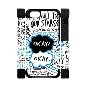 New the unique The Fault In Our Stars Case for Iphone 5S/5 Rubber & Silicone
