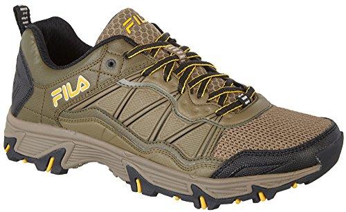 Fila Mens À Peake Trail Chaussures De Course 11.5 Beige Noyer