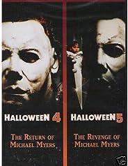 Halloween 4: The Return of Michael Myers / Halloween 5: The Revenge of Michael Myers (Halloween Double Feature