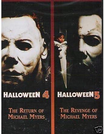 Halloween 4 & 5 DVD Region 1 US Import NTSC: Amazon.co.uk: Halloween 4 & 5:  DVD & Blu-ray