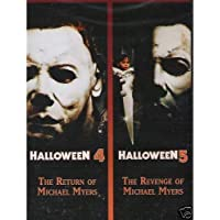 Halloween Double Feature: Halloween 4: The Return of Michael Myers / Halloween 5: The Revenge of Michael Myers