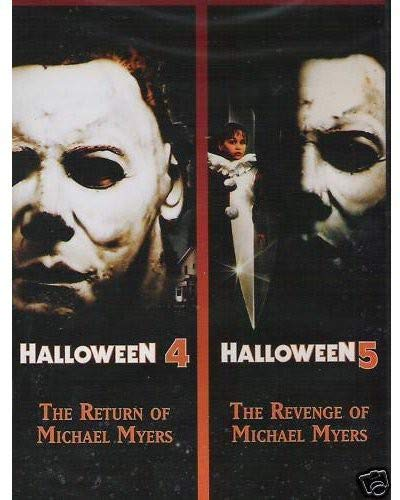 Halloween 4: The Return of Michael Myers / Halloween 5: The Revenge of Michael Myers (Halloween Double Feature) -