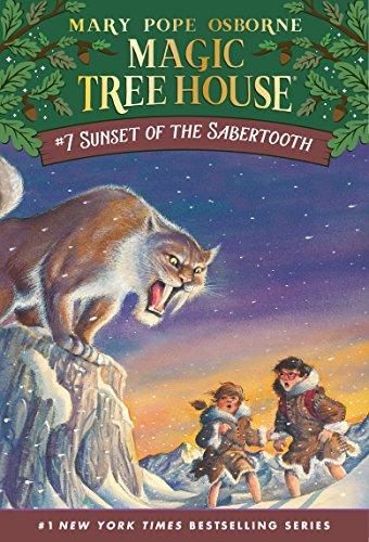 Sunset Sabertooth Magic Tree House ebook product image