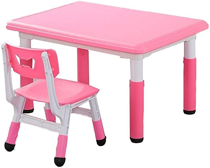 Pupitre de niño Mesa de niño heces del niño Craft Table Niño Mesas ...