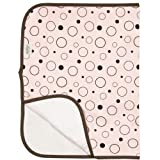 Kushies Deluxe Terry Change Pad, Pink Bubbles