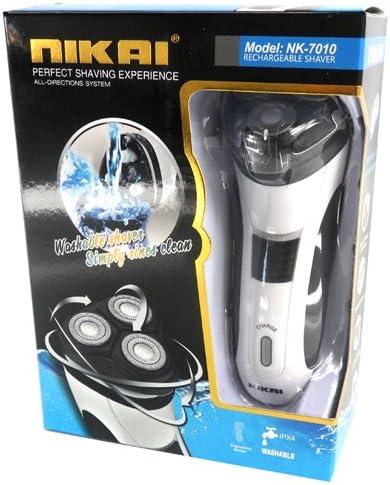 Nikai 3d batería cara seco y mojado Maquinilla de Afeitar ...