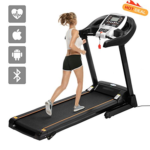 ANCHEER S8500 Treadmill APP Control, New Electric...