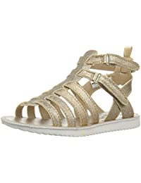 Kids Ellie Girl's Metallic Gladiator Sandal