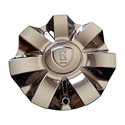 BORGHINI WHEEL CHROME CENTER CAP CSB7S-C1P Also Fits Bentchi CSB7-1P: Automotive