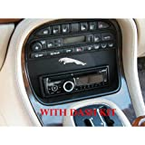 (US) JAGSD Single DIN Stereo Dash Kit for 1998-2003 Jaguar XJ8/XJR/Vanden Plas