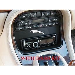 JAGSD Single DIN Stereo Dash Kit for 1998-2003 Jaguar XJ8/XJR/Vanden Plas