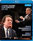 Brahms: Piano Concertos Nos. 1 & 2 [Blu-ray]
