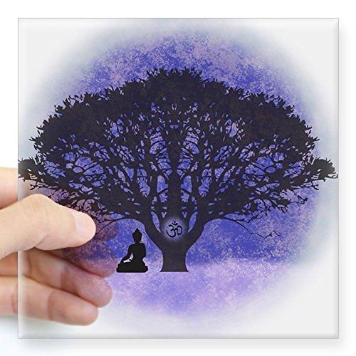 cafepress-buddha-beneath-the-bodhi-tree-light-background-squ-square-bumper-sticker-car-decal-3x3-sma