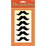 6 pc Self Adhesive Moustaches by Acme