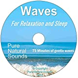 Relax or Go to Sleep to Pure Natural Sounds ~ CD1: The Sound of Waves on the Beach ~ CD2: The Sound of Rain in the Forest - For Relaxation, Meditation, Massage and Sleep, Anxiety, Stress and Tinnitus. High Quality Digital Stereo.