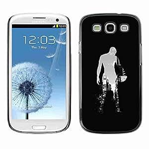 Planetar® ( Sci Fi City ) Fundas Cover Cubre Hard Case Cover Samsung Galaxy S3 III / i9300 i717