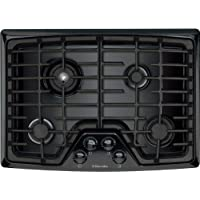 Electrolux EW30GC55GB 30 Gas Cooktop with Min-2-Max® Burner and Continuous Grates, Black