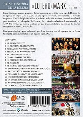 Breve historia de la Iglesia Católica - De Lutero a Marx - DVD: Amazon.es: Andrés Garrigó: Cine y Series TV