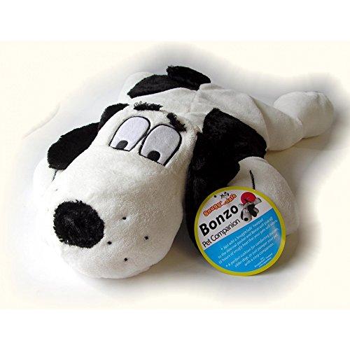 Snugglesafe Bonzo Dog Style Heatpad Holder Cushion (Heatpad Not Included) (One Size) (White/Black)