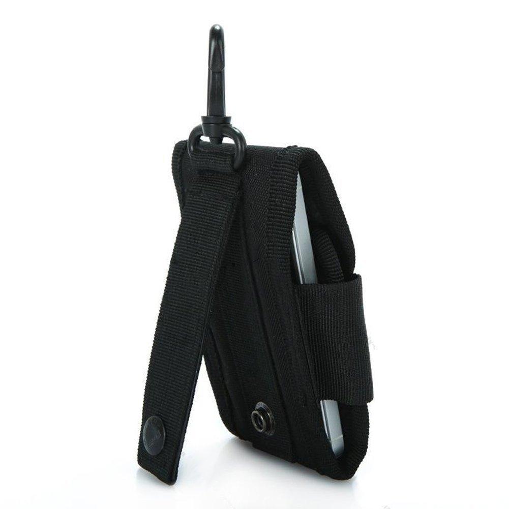 Switty Hommes Molle Outdoor Hunt Accessoires Sac multifonctions Sundries Sacs portable cl/é t/él/éphone sac de taille Housse