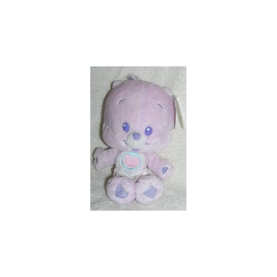 2004 Care Bear Cubs 8 Plush Baby Share Bear Cub Bean Bag Doll