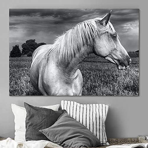 Sign Leader Horse Canvas Wall Art Animals Prints Wall Art