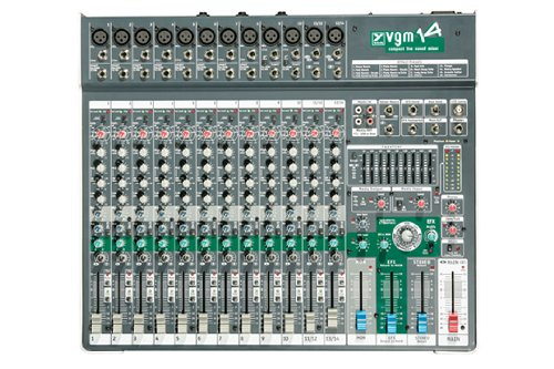 (Yorkville VGM14 Compact Live Sound Passive Mixer)