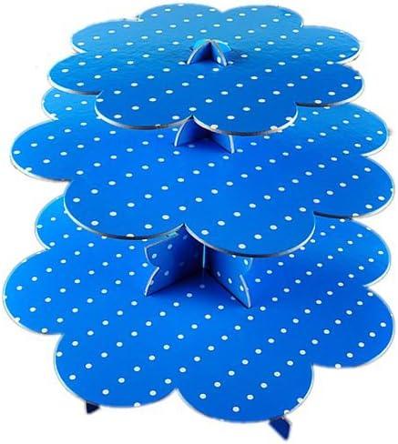 Blau mit P/ünktchen Cupcake St/änder