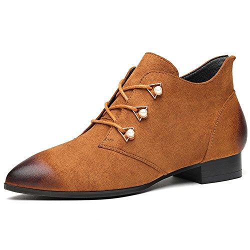 Damen Dünne Schuhe,Retro Schuhe,Spitze Schuhe,Tragen Hunderte Von Schuhen A