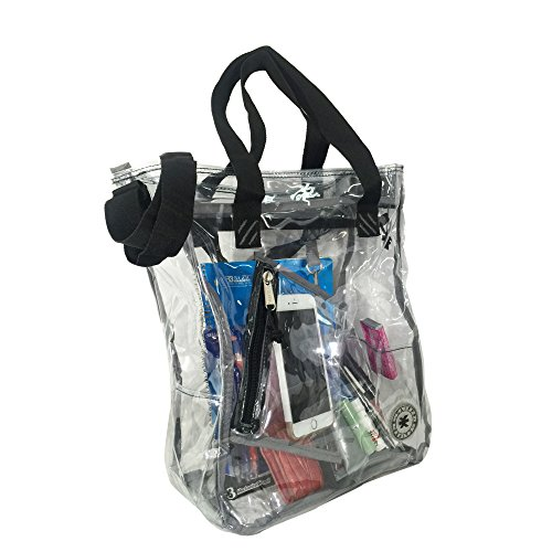 Heavy Duty Clear Plastic Tote Bags - 2