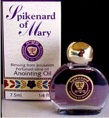 - Made in Israel Spiknard of Mary Anointing Oil
