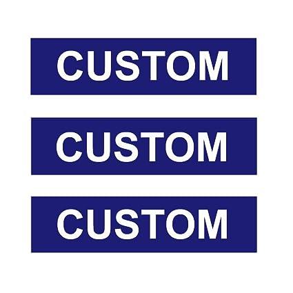 Amazon.com: Juego de 3 letreros personalizados para corredor ...