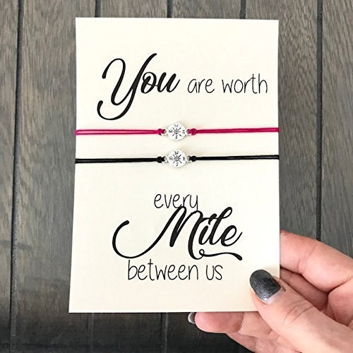 Image Unavailable. Image not available for. Color: Long distance relationship gifts ...