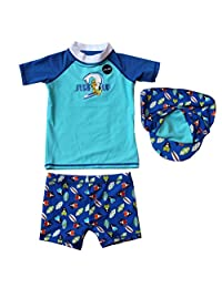 Baby Boys Swim Set Rashguard Swimwear