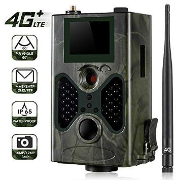 SunTek 4G 3G 2G Cámara de Caza MMS SMS GPRS 16 MP 1080P Full HD Trail
