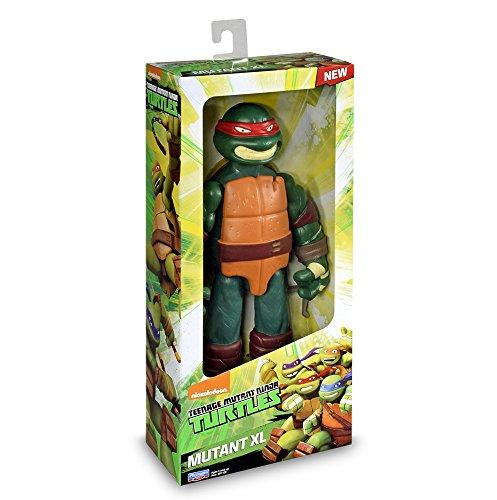 Tortugas Ninja - TMNT Mutation Figura básica Rafael, XL 28 cm (Giochi Preziosi TUA79000)