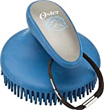 Oster Equine Care Series Curry Comb, Fine, Blue