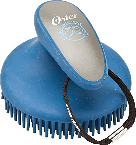 Oster Equine Care Series Curry Comb, Fine, Blue by Oster