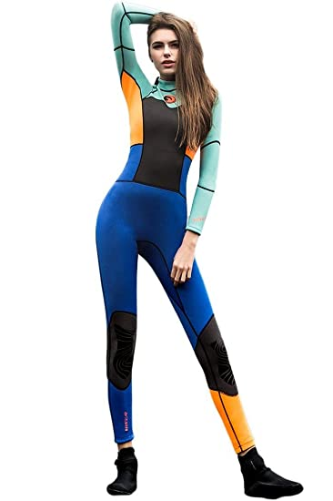 Toogou 1.5mm Long Sleeves One Pieces Neoprene Slim Women Scuba Diving Suits  Bodysuits Wetsuits Snorkeling 6aecb5b72
