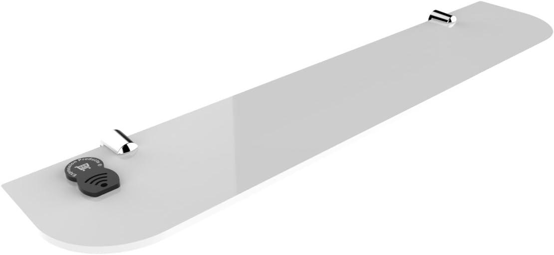 dormitorio Straight acr/ílico estante de seguridad 500/mm x100/mm ba/ño oficina